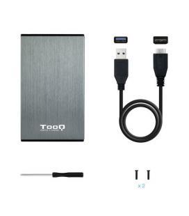CAJA HDD TOOQ TQE-2527G 2.5'' SATA USB3.0/3.1 9,5MM GEN1 GRIS