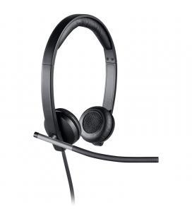 Logitech Auricular+MIc USB H650 Negro