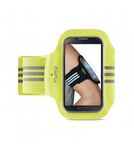 Brazalete deportivo puro pufb011 lima - compatible con smartphones de 5'/12.7cm - tamaño ajustable - material reflectante -