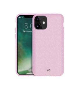 Funda xqisit 36759 cherry blossom pink para iphone 11 - compatible con carga inalámbrica - ecológica y biodegradable