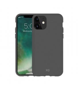 Funda xqisit 36760 mountain grey para iphone 11 - compatible con carga inalámbrica - ecológica y biodegradable