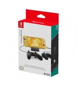 Base doble hori usb playstand para nintendo switch / switch lite - 2*usb 2.0 - licencia oficial nintendo