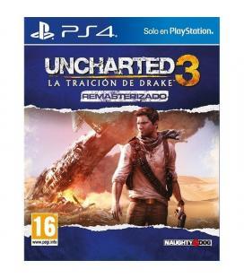 Juego para consola sony ps4 uncharted 3: la traición de drake remasterizado