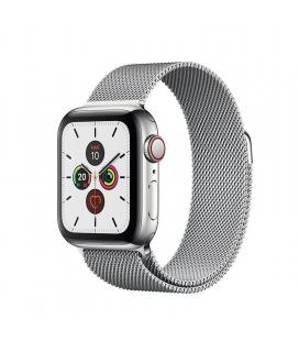 Apple watch series 5 gps cell 40mm caja acero con correa acero milanese loop - mwx52ty/a