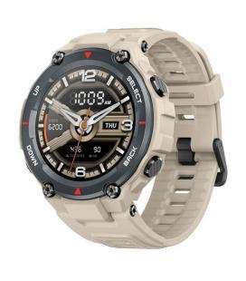 Reloj inteligente huami amazfit t-rex caqui - pantalla 3.30cm amoled - bt - rugerizado - multisport - frecuencia cardiaca -