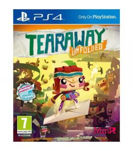 Juego para consola sony ps4 tearaway unfolded