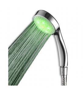 Alcachofa de ducha con led 3 colores jocca 6367 - sin pilas: se alimenta de la presión del agua - los colores led indican la - I