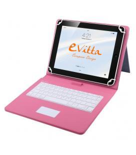 "FUNDA TABLET E-VITTA KEYTAB USB TOUCHPAD 10,1"" ROSA"