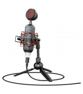 Micrófono trust gaming gxt 244 buzz usb streaming - grabación cardioide alta precisión - soporte amortiguador - trípode - cable