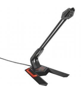 Microfono trust gaming gxt 210 - brazo flexible y ajustable - boton de silenciado con indicador led - cable 1.5m usb - 20688