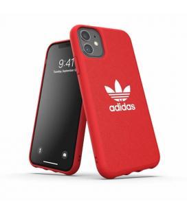 Carcasa adidas original moulded case canvas red compatible con iphone 11