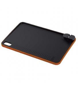 Tabla de cortar con afilador de cuchillos efficient bra a198011 - 40*25cm - guía de corte - antideslizante - apta para - Imagen