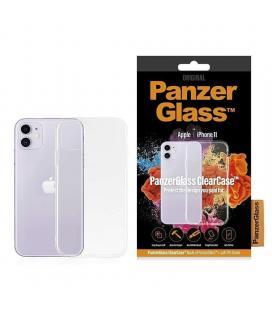 Carcasa transparente panzerglass 0209 para iphone 11 - acceso a todas las funciones - compatible con carga inalámbrica