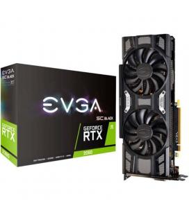 Tarjeta gráfica evga geforce rtx 2060 sc black gaming - 6gb gddr6 - 1680 mhz - pci x16 3.0 - 192 bit - hdmi - 2*displayport - -