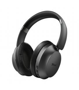 Auriculares bluetooth trust eaze - drivers 40mm - micrófono integrado - uso inalambrico/cable jack 3.5mm - func. manos libres