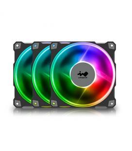 VENTILADOR 120X120 IN WIN JUPITER AJ120 ARGB PACK 3UDS