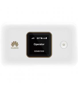 Router 4g portátil huawei e5785-92c - doble banda 2.4/5ghz - 300mbps lte cat 6 - pantalla tft/lcd - micro usb - ranura microsim