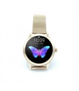 Reloj inteligente innjoo voom gold - pantalla color 2.6cm - bt 4.0 - cuantificador salud - ip68 - bat. 120mah - compat. - Imagen