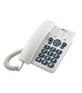 SPC 3602 Teléfono sobrem./mural 3 memorias Blanco