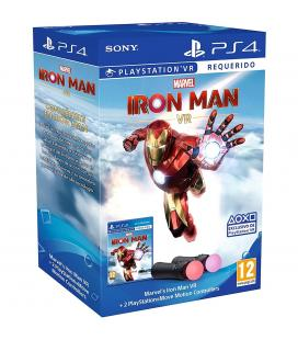 Juego ps4 - marvel's ironman vr + 2 ps move