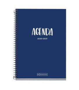 Agenda escolar 2020/2021 miquel rius 26106 school plus marino - sept 20/agosto 21 - semana vista - 155*213mm - 70g/m2 - - Image