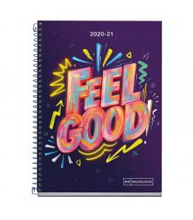Agenda escolar 2020/2021 miquel rius 26136 teen activa feel good - sept 20/agosto 21 - día página - 117*174mm - 70g/m2 - - Image