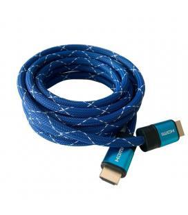 Cable hdmi 3go chdmi320 - conectores hdmi macho/macho - v2.1 -soporta resoluciones 4k a 60fps- 3 metros