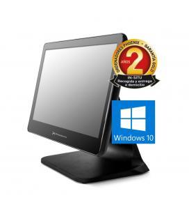 Ordenador phoenix tpv integrado intel celeron 4 gb ddr3 120 gb ssd pantalla led 15.6pulgadas tactil windows 10
