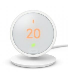 Termostato inteligente google nest thermostat e - 4 sensores - wifi - funciona con google home - pantalla lcd - bat.recargable -