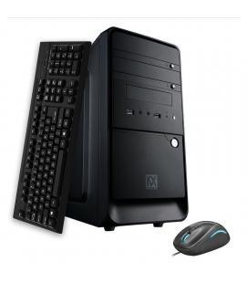 Kvx- free xline 1 intel i3 9100f 3,60ghz -8gb ddr4 2400mhz- 256b ssd- gforce gt710 1gb- h310m - 500w reales 80bronze plus-