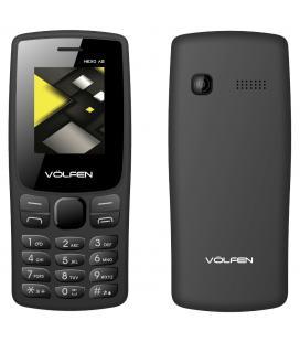 Telefono movil volfen a2 negro pantalla 1.8pulgadas - camara - radio fm - dual sim - micro sd - bateria larga duracion