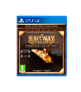 JUEGO SONY PS4 RAILWAY EMPIRE COMPLETE COLLECTION