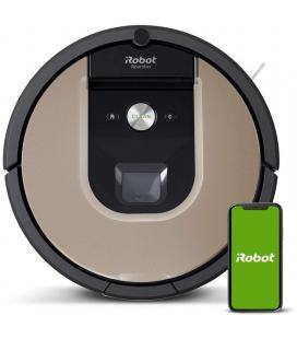 Robot aspirador irobot roomba 974 - navegación vslam con localización visual - limpieza 3 fases - 2 cepillos de goma+cepillo