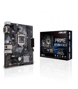 PLACA ASUS PRIME H310M-K INTEL1151 2DDR4 HDMI PCIE3.0 M.2 4SATA3 USB3.1 MATX