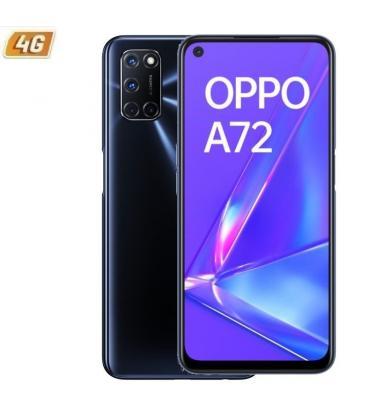 "SMARTPHONE MÓVIL OPPO A72 TWILIGHT BLACK - 6.5""/16.5CM - SNAPDRAGON 665 - 4GB RAM - 128GB"