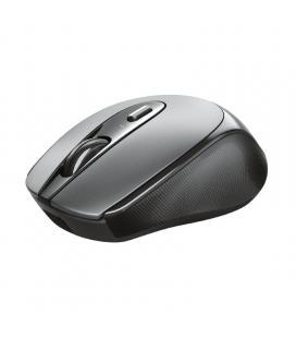 Ratón inalámbrico trust zaya 23809 black - óptico - rf 2.4ghz - 1600dpi max - 4 botones -bat.recargable - puerto usb tipo-c