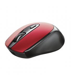 Ratón inalámbrico trust zaya 24019 red - óptico - rf 2.4ghz - 1600dpi max - 4 botones -bat.recargable - puerto usb tipo-c