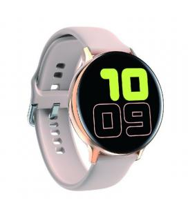 Reloj inteligente innjoo lady eqis r rose gold - notificaciones - ritmo cardiaco - ip68