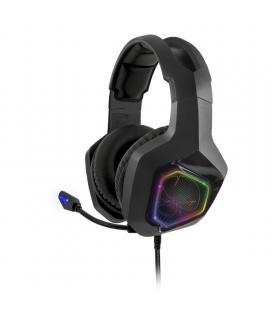 Auriculares con micrófono spirit of gamer elite-h50 black edition - drivers 40mm - conector jack 3.5 - cable 2.1m