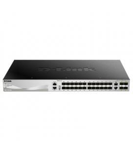 D-Link DGS-3130-30S Switch L2+ 24xSFP 4xSFP+ 2x10G
