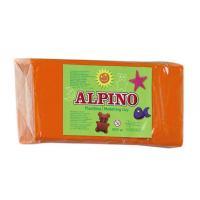 PLASTILINA ALPINO 150GRS NARANJA-SIN GLUTEN - Imagen 1