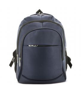 Mochila pierre delone g-182-ma lucas azul - 33*44*23cm - bolsillo principal para portátil - 4 bolsillos exteriores - parte