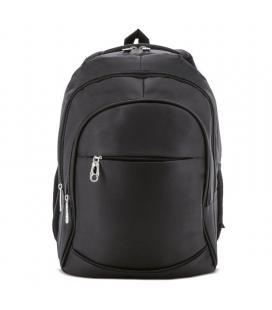 Mochila pierre delone g-182-ne lucas negro - 33*44*23cm - bolsillo principal para portátil - 4 bolsillos exteriores - parte