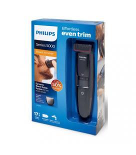 Afeitadora philips trimmer bt5200 - 16 5000 series color negro peine guia integrado