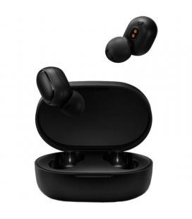 Auriculares bluetooth xiaomi mi true wireless earbuds basic 2 negros - bt5.0 tws - auriculares 43mah - estuche de carga 300mah -