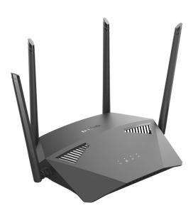 Router inalámbrico d-link dir-1950 ac1900 mu-mimo - 802.11 ac /n/g/b/a - banda dual - wan - 4*lan gigabit - 4 antenas - control