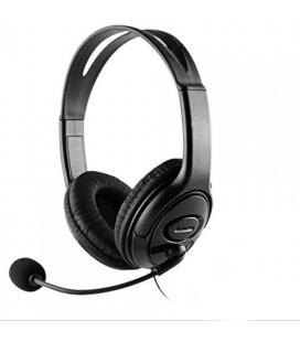 AURICULARES C/MICROFONO COOLBOX COOLCHAT U1 USB NEGRO