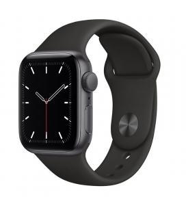 Apple watch se 40mm gps caja aluminio gris espacial con correa negra sport band - mydp2ty/a - Imagen 1