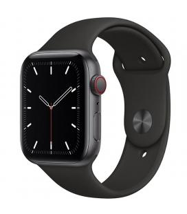 Apple watch se 44mm gps cellular caja aluminio gris espacial con correa negra sport band - myf02ty/a
