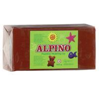 PLASTILINA ALPINO 150GRS MARRON SIN - Imagen 1